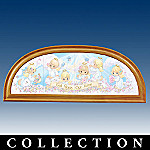 Precious Moments God Bless Our Home Collector Plate Panorama Collection