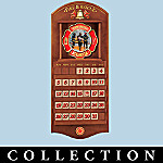 Commitment To Courage Firefighter Perpetual Calendar Collection