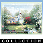 Thomas Kinkade Faith For All Seasons Collector Plate Collection