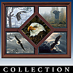 Wings Of Wonder: A Masters Collection Eagle Quintet Wall Decor Art Collection