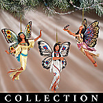 Dance Of The Butterfly Ornament Collection