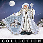 Al Agnew Mystic Guardians Of The North Santa Figurine Collection