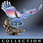 On Freedom's Wings Bald Eagle Collectible Figurine Collection