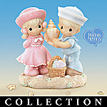 Precious Moments Sunshine and Seashore Figurine Collection