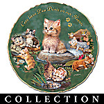 Faithful, Furry Friends Cat & Kitten Porcelain Collector Plate Collection