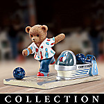 Faithful Fuzzies Teddy Lanes Bowling Figurine Collection