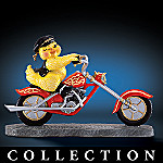 Chicks Rule! Motorcyle Figurine Collection