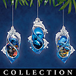 Dolphin Majesty Christian Riese Lassen Christmas Ornament Collection