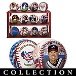 Atlanta Braves Major League Baseball Commemorative Baseball Collection