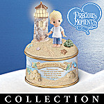 Precious Moments Footprints Of Faith Music Box Collection