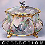 Lena Liu Enchanted Wings Butterfly Porcelain Music Box Collection