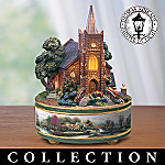 Thomas Kinkade Illuminated Music Box Collection