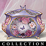 Lena Liu Wings Of Love Butterfly Collectible Music Box Collection