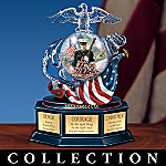 USMC Tribute Collectible Music Box Collection