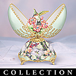 Lena Liu Jeweled Splendor Porcelain Musical Egg Collection