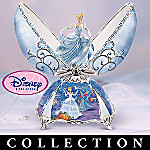 Disney Princess Peter Carl Faberge Style Musical Egg Collection