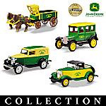 1:43 John Deere Vintage Vehicle Diecast Replica Collection