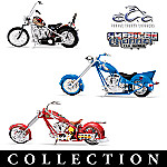 1:18 Collectible Motorcycle Bike Diecasts: Best Of American Chopper Collection