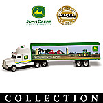 John Deere Diecast Semi Truck Collection