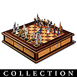 USMC Field Of Honor Collectible Chess Set Collection