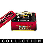 50th Anniversary Chevrolet Corvette(R) Diecast Tin Set Collection