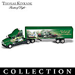 Thomas Kinkade Thoughts For The Road Diecast Truck Collection
