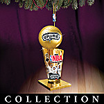 San Antonio Spurs Collectible NBA Championship Trophy Christmas Tree Ornament Collection
