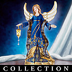 Jeweled Faberge Style Musical Angel Figurine Collection