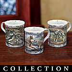 Spirit Of The Pack Collectible Wolf Art Mug Collection