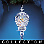 Sandra Kuck Angelic Reflections Angel Art Collectible Crystal Christmas Ornament Collection
