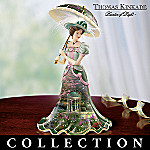 Thomas Kinkade Garden Gala Collectible Porcelain Figurine Collection