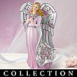 Angelic Inspirations Stained Glass Art Collectible Angel Figurine Collection