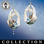 Thomas Kinkade The Blessings Of Light Lighthouse Christmas Ornaments Collection