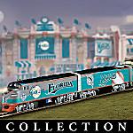 Florida Marlins Express Major League Baseball Train Collection