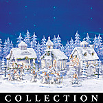 Snow Angels Holiday Village Collection
