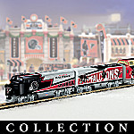 Collectible NFL Football Atlanta Falcons Express Electric Train Set Collection