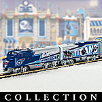 Collectible NFL Football Tennessee Titans Express Electric Train Set Collection