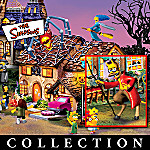 The Simpsons Collectible Halloween Village Collection