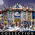 Collectible Indianapolis Colts Christmas Village Collection