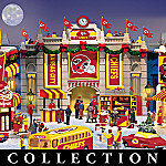 Kansas City Chiefs Collectible Christmas Village Collection