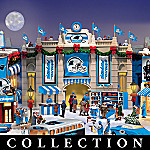 Carolina Panthers Collectible Christmas Village Collection