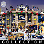 St. Louis Rams Collectible Christmas Village Collection