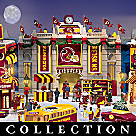 Washington Redskins Collectible Christmas Village Collection