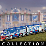L.A. Dodgers Express Major League Baseball Train Collection