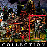 Scary Movie Halloween Village Collection