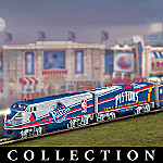 Detroit Pistons Express NBA Basketball Train Collection