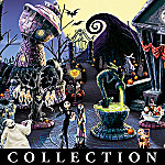 Tim Burton's The Nightmare Before Christmas Village Town Collection