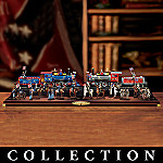 Civil War Collectible On30 Scale Train Set: The North & South Collection Collection