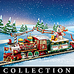 Winnie The Pooh Hundred Acre Wood Christmas Express Train Collection