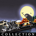 Tim Burton's The Nightmare Before Christmas Express Illuminated Train Collection